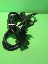 Universal 3 Prong Power Cord Computer Monitor Tv