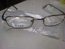 Van Heusen Studio Side Lines Big Men Eyeglasses Frames & Astoria Case  51-19-140