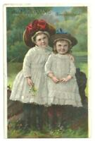 Lydia Pinkham Vegetable Compound Children Bridge Lot Two Victorian Trade Cards