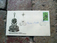 KEITH POOLE HANDSIGNED SIGNED  LAWN BOWLS COVER