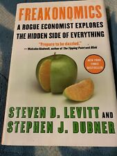 Freakonomics: A Rogue Economist Explores the Hidden Side of Everything - Hard