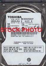 "Toshiba 320GB 5400RPM SATA 2.5"" Hard Drive MK3259GSXP"