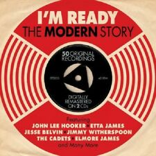 I'm Ready-The Modern Story 2-CD NEW SEALED Cadets/Cobras/Cliques/Etta James+