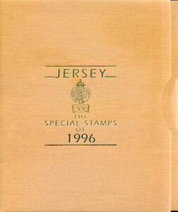 Official Jersey Post Office Year Books1996 - 2000, 5 different (2020/01/21#03)