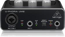 BEHRINGER UM-2 U-PHORIA Interface de Audio UM2