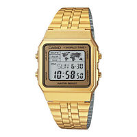 CASIO Vintage Retro Series World Time Gold Classic Watch A500WGA-9DF