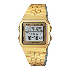 CASIO Vintage Retro Series World Time Gold Classic Watch A500WGA-9DF