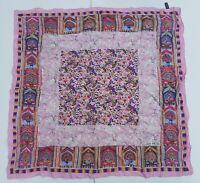 foulard jean patou paris pura seta 100% silk original made italy carré scarf