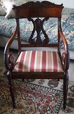 Superbe Fauteuil ou Chaise de la Période Directoire en Acajou Fin 18ème Siècle