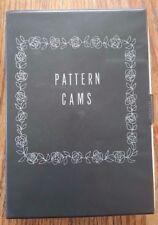 Vintage SEARS KENMORE Sewing Machine Pattern Cams In Original Case