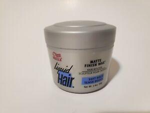 Wella Matte Finish WAX Soft Hold 3.4 oz /100 g HTF rare*