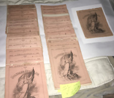 CIVIL WAR THE SOUTHERN REBELLION 1-30 PARTS  27 ENGRAVINGS  MAP