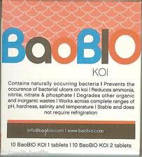 BaoBio / Bao Bio schützt Ihre Koi im Teich - 20 Tabletten