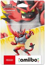 Nuovo Nintendo Amiibo Incineroar Super Smash Brothers Pokemon Giappone Ufficiale