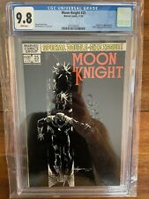 Moon Knight 25 White Dot Error CGC 9.8 White Pages Extremely Rare 1982