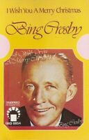 Bing Crosby..  I Wish You A Merry Christmas. Import Cassette Tape