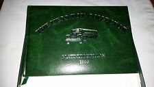 1996 HESS TOY COLLECTOR PLATINUM EDITION TRUCK BOOK