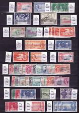 Cayman Islands. Mint selection on stockbook page.