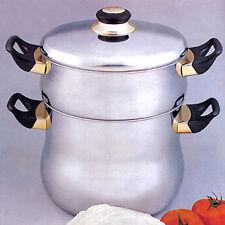 CousCous Topf Bulgur 6 Liter Nudeln Spaghetti Reis Wasser 18/10 Edelstahl NEU!
