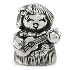 Sterling Silver Hawaiian Ukulele Girl Ohm Bead Charm ahb007