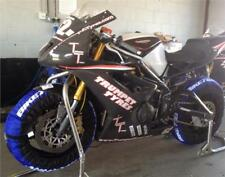 Biketek neumático Calentadores Set 120 Frontal 180 190 Neumático Trasero Motocicleta Race & Track Uk