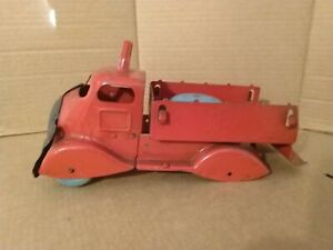Unbranded Tinplate Truck with Bell. Restoration.