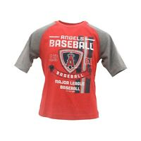 Los Angeles Angels Official MLB Genuine Kids Youth Size Distressed T-Shirt New