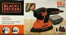 Black Decker BDEMS600 Mouse Detail Sander Compact Size High Performance Plastic
