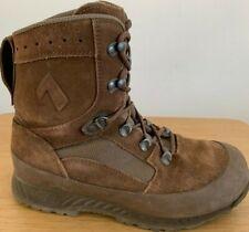 Genuine British Army HAIX Desert Combat High Liability Suede Brown Boots