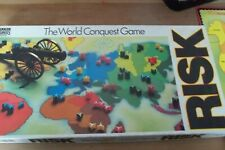 Risk Vintage Board Game By Parker The World Conquest Game - 1985