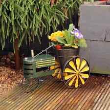 Metal Tractor Planter Plant Pot Novelty Wedding Gift Home Garden Décor