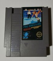 Pro Wrestling (Nintendo Entertainment System) NES Game cartridge only Tested