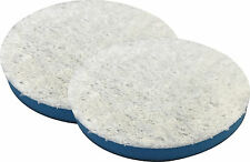 2 PACK 3.5 Inch SM Arnold Blue Microfiber Finishing / Polishing Pads 43213-2