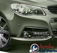 VF Commodore DRL Surrounds Phantom Black - Series 2 Holden Genuine