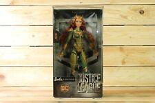 Barbie Signature Justice League Mera DC Comics Figure Doll Mattel  Hard to Find