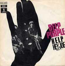 "DEEP PURPLE ""HELP/HEY JOE"" ORIG FR 1968 W/PS ULTRA RARE"