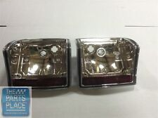 1970-72 Chevrolet Chevelle / El Camino Tail Lamp Lens Bezel And Housing - Pair