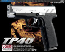 Academy Korea TP45 Full Size Plastic Airsoft Pistol BB Replica Hand Toy Gun 6mm
