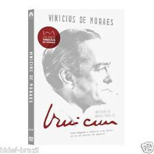 DVD Vinicius de Moraes 2-Disc [ Subtitles in English + Spanish + Portuguese ]