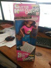 1993 VINTAGE BARBIE DOLL GLITTER HAIR BARBIE RED HEAD  #10968 Glittery Gel