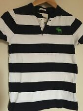 Abercrombie And Fitch Kids Striped T Shirt Medium