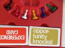 CAREERS 1971 Game Replacement Parts Pieces Opportunity Knocks Experience Cards