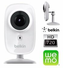 NEW Belkin NetCam HD+ Wi-Fi Camera with Night Vision - White