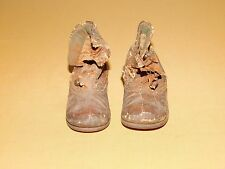 Vintage Antique 1800S Childs Or Baby Button Shoes