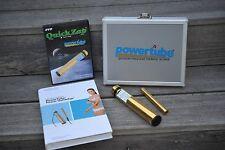 Quick Zap Power Tube Gold TENS Gerät , NEU, incl. DVD und Therapiehandbuch