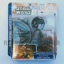 STAR WARS Kenner Hasbro Action Figure - CLONE WARS - Battle Launcher Destroyer