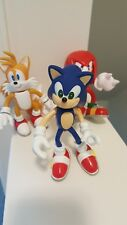 """Near Mint 5"""" Toy Island Sega Sonic Tails Knuckles Action Figures 2000"""