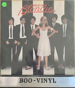 Blondie - Parallel Lines - Vinyl LP 1978 Original VG+ / VG+