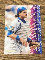 """Vintage 1995 """"All-Fleer 9"""" #1 MIKE PIAZZA LA Dodgers NY Mets C HOF RARE NM/Mt SP"""