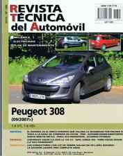 MANUAL DE TALLER PEUGEOT 308-1.6 VTI,1.6 HDi DES 9/07-RT189